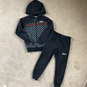 Boys Gucci 2 Pc outfit/ Sz 5